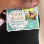 Goat milk facial cream