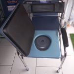 Commode Toilet Chair  ( Without Wheels New Type )