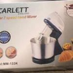 Scarlett Hand Mixer/Cake Mixer