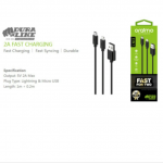 Oraimo dura line lightning and micro usb charger ocb-d61