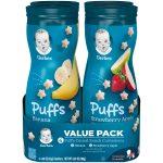 Gerber Puffs Value Pack (4 Tubs)