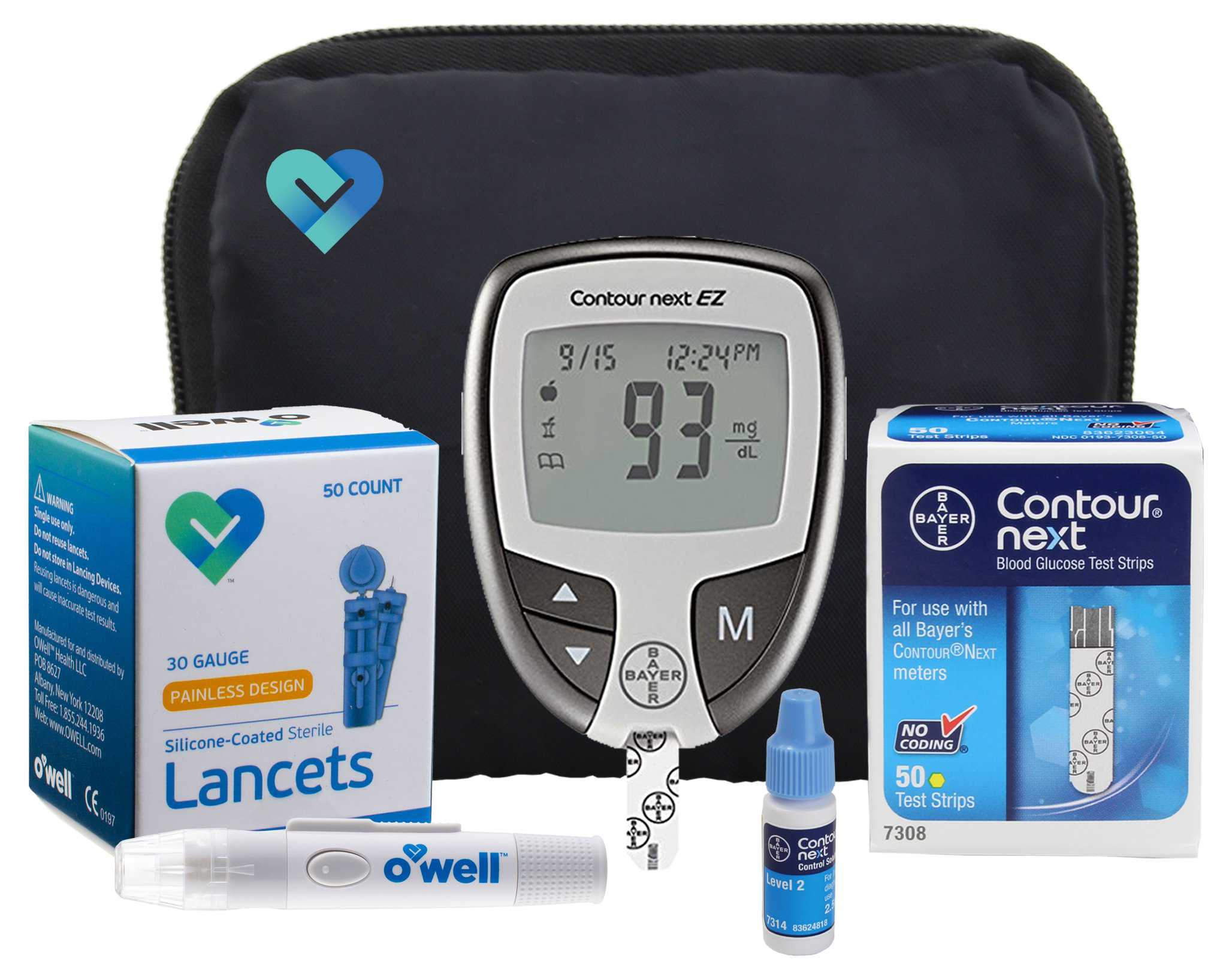 Glucometer ( Blood Sugar Monitor)