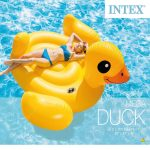 Inflatable Pool Float Yellow Duck