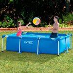 Intex Rectangular Family Swimming Pool 7ft