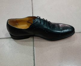 black leather mens shoes in ghana