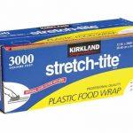 Kirkland Signature Stretch-Tite Clear Plastic Food Wrap