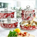 Hursultan 5 Set Heavy Weight Triple Stainless Steel Cookware