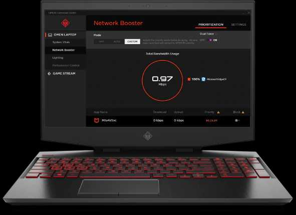 HP Omen 15 CORE i7 GTX 1070 GAMING PC
