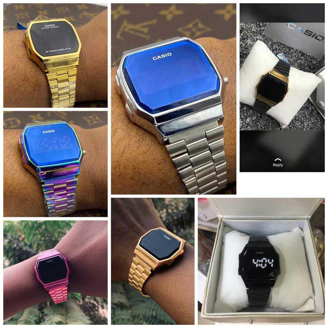 casio illuminator touch watch