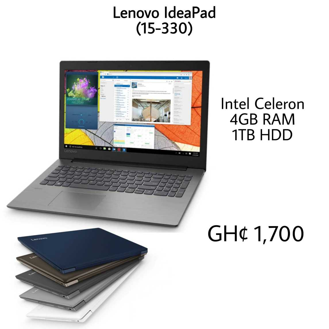 price of lenovo ideapad 330 in ghana