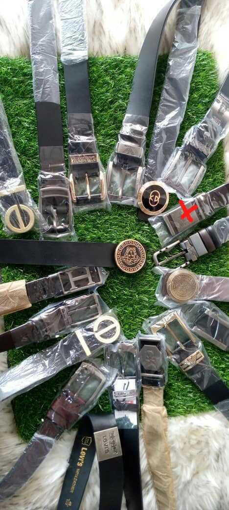 Designer Leather Belts