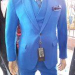 Deep Royal Blue Suit