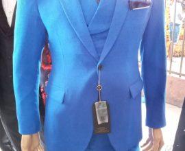 royal blue suit for men in ghana