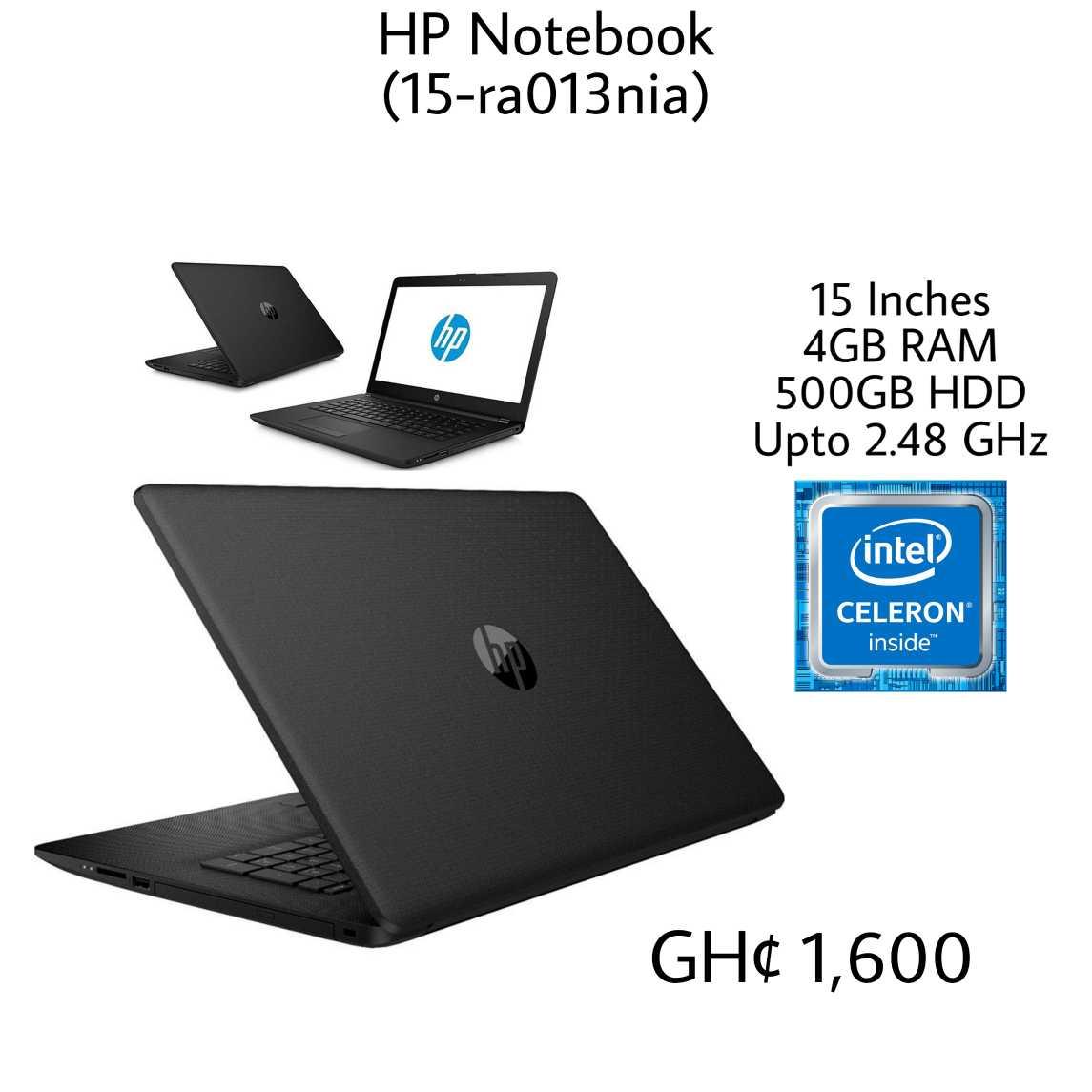 price of hp notebook 500gb in ghana