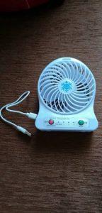 rechargeable portable fan in ghana