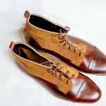 Vintage Brown Mens Boots