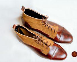 brown mens boots in ghana