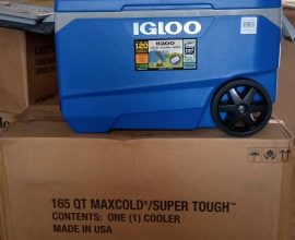 ice chest with wheels in ghana