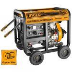 Ingco Diesel Generator And Welding Machine Gdw65001