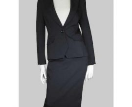 black skirt suit in ghana