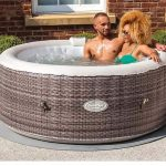 Inflatable Jacuzzi Hot Tub Spa