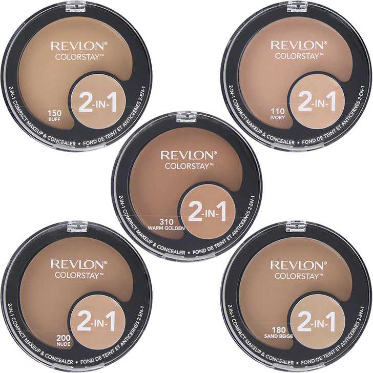 Revlon Compact Makeup 2 in 1 Shade Cappucino