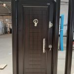 Single heavy turkey security doors