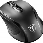 Victsing Wireless Mouse Portable Mouse 2.4G