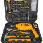 Ingco 850 W hammer drill + Set 100 accessories