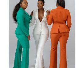 ladies trouser suit in accra