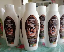 african black soap shower gel in ghana