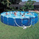 Ultra Intex Swimming Pool Metal Frame Overground