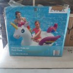 Unicorn Ride-On Pool floater