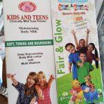 Kids and teens moisturizing body milk