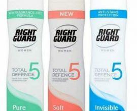 right guard womens deodorant