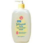 Johnson's top to toe wash
