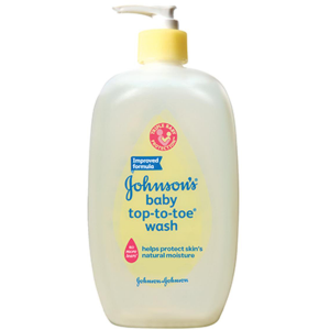 johnsons top to toe wash