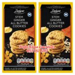 Stem Ginger All Butter Cookies