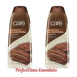 avon care cocoa butter body lotion