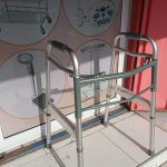Zimmer Frame Without Wheels ( Foldable Walker )