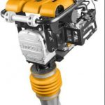 Ingco GRT75-2 Gasoline Tamping Rammer, Impacting Force: 10kn