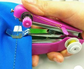 portable hand sewing machine