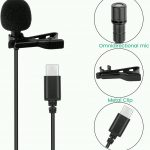 Lavalier microphone type c / lightning / Aux 3.5 connector