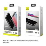 Usams PB27 10000mAh Wireless Fast Charging Power Bank