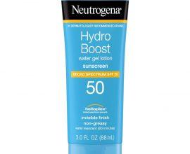 neutrogena hydro boost sunscreen