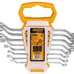 Offset Ring Spanner Set – HKSPA3088 – Ingco