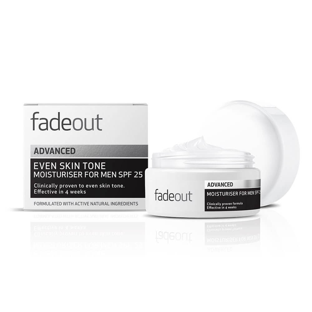 Fade Out Men's Moisturizer With SPF Protection
