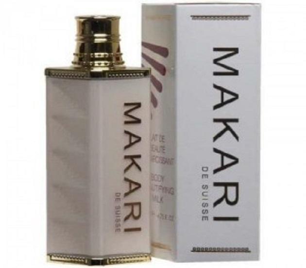makari beauty whitening milk