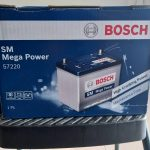 15 Plates Bosch Car Battery 57220