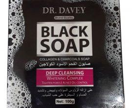 dr davey black soap